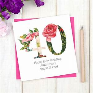 personalised diamond 60th wedding anniversary card by chi ...