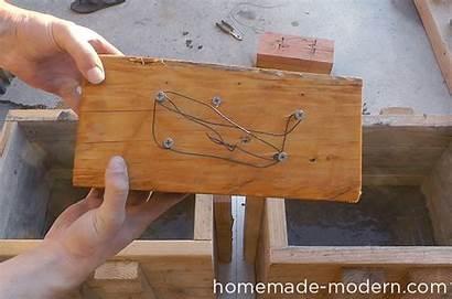 Homemade Modern Concrete Bench Diy Outdoor Ep57