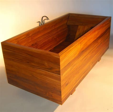wooden sinks and bathtubs why a custom tub can save you from deep trouble made by