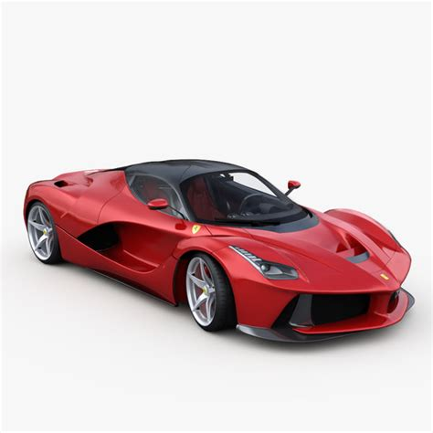 ferrari coupe models ferrari laferrari 2014 3d model