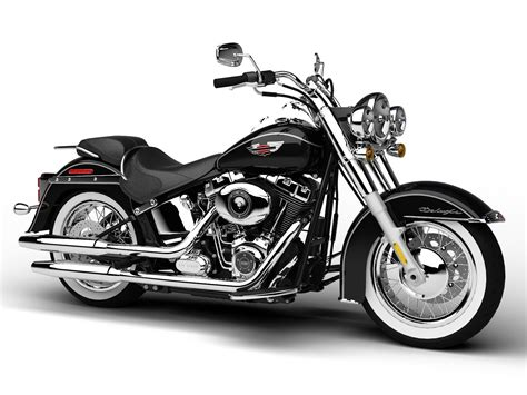 Harley-davidson Flstn Softail Deluxe 2015 3d Model Max Obj