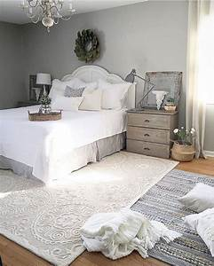 Cozy Farmhouse Master Bedroom Design Ideas 51 — Fres Hoom