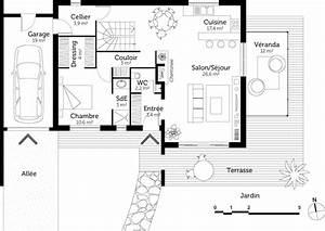 plan maison avec etage ventana blog With lovely plan de maison 120m2 14 plan maison trecobat maison moderne