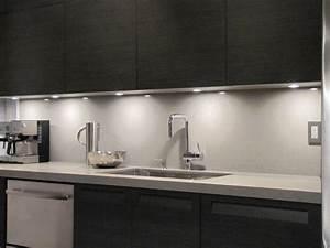 Under cabinet lighting kitchen modern with caesarstone