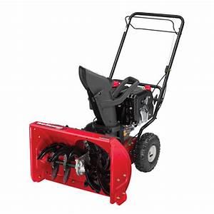 Yard Machines 22 U0026 39  U0026 39  Two-stage Snow Blower
