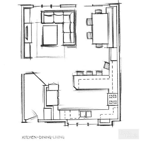 Kitchen Dining Room Floor Plans by Remodel To Change Floor Plan In 2019 Foley House Open