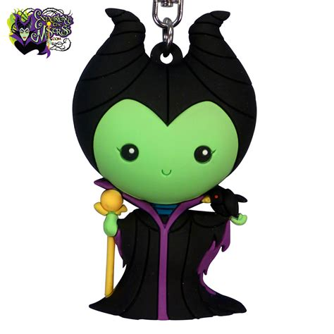 monogram disney series   figural keyring maleficent