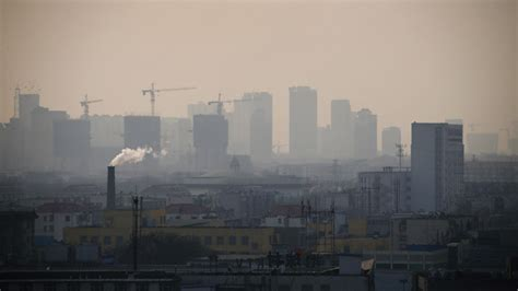 pollution level china  percent  cities fail