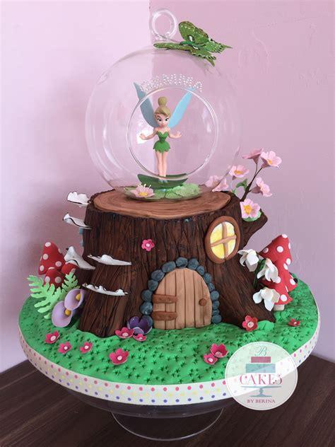enchanted forest tree stump fairy cake  cakes  berina
