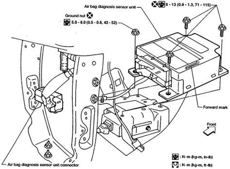 airbag deployment 1994 honda accord on board diagnostic system 1997 nissan datsun maxima 3 0l fi dohc 6cyl repair guides air bags supplemental restraint