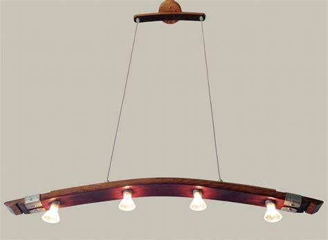 Kitchen Island Pendant Lighting Ideas - saba recycled wine barrel stave pendant light kitchen island lighting