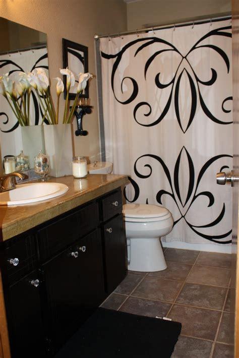 oak cabinets painted black bathroom master decor ideas