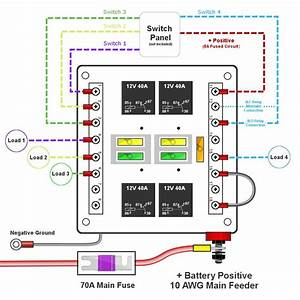 Custom Relay Panels  U2014 Choose 4  6 Or 8 Switches
