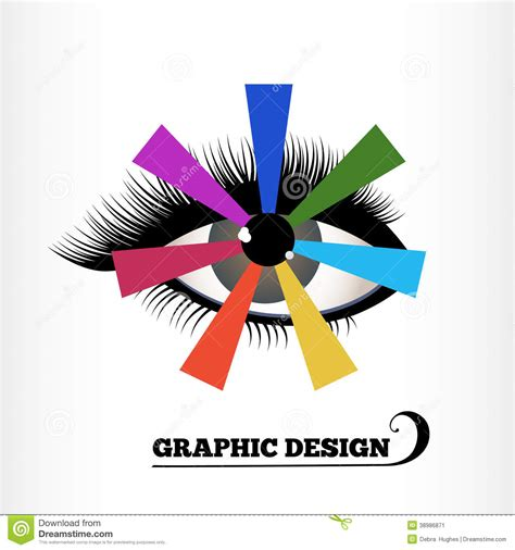 graphic design color wheel stock vector image