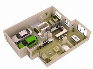 3d small house plans 2015 for modern home floor layout for Plan de maison design 0 single family home photorealistic renderings and 3d