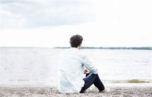 Wallpaper Beach Guy Alone Images For Desktop Section