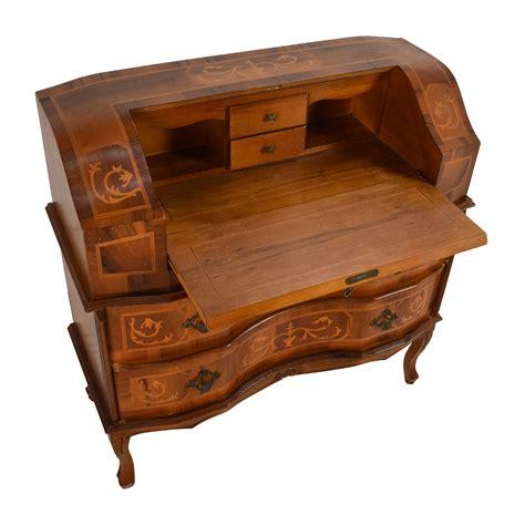 antique wooden desk chair 65 off antique wooden secretary desk tables