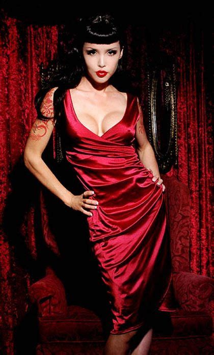 Greta Dress in Burgundy Stretch Satin by Pinup Couture $84 ...