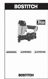 Bostitch Nail Gun Rn46 User Guide