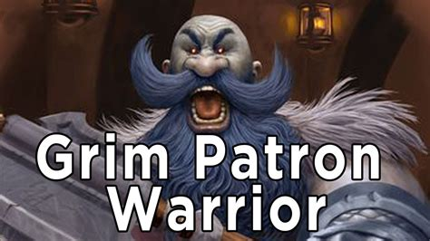 hearthstone deck guide grim patron warrior youtube