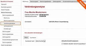 Vodafon Rechnung Online Ansehen : hilfe verbindungs bersicht einzelverbindungsnachweis ~ Themetempest.com Abrechnung