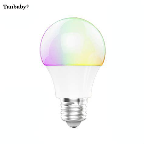 4 led light bulbs tanbaby 4 5w e27 rgbw led light bulb bluetooth 4 0 smart