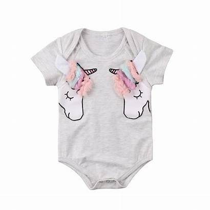 Clothes Newborn Cartoon Unicorn Clothing Boys Infant