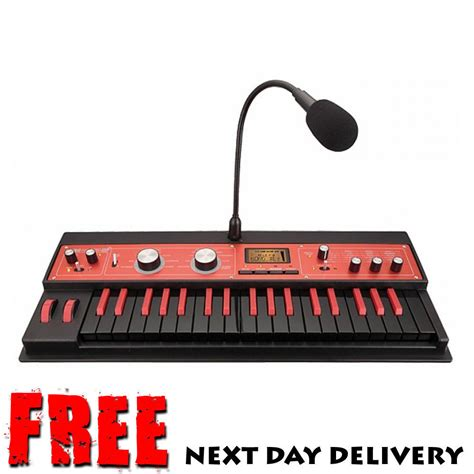 korg microkorg xl plus limited edition synthesizer