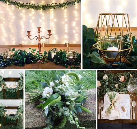 natural green wedding theme ideas the barn at cott farm
