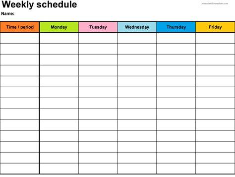 weekly calendar template 2018 printable weekly calendar 2018 printable calendar templates