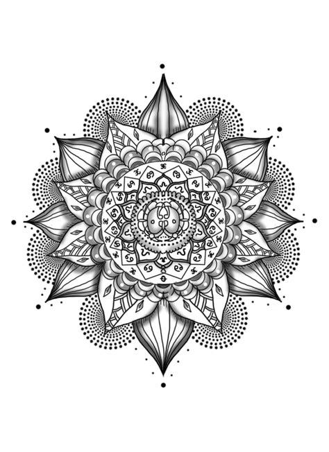 mandala tattoos png picture