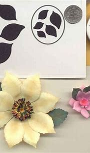 Large DAHLIA PETALS Paper Punch by Punch Bunch ...