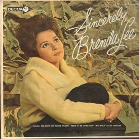 brenda lee only you bye bye blues september in the rain softly as i leave