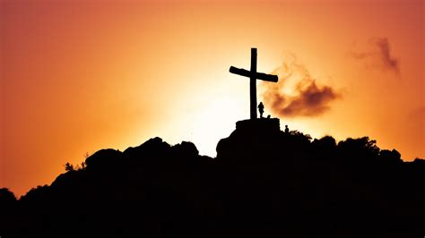 Animated Cross Wallpaper - cross at sunset 4k wallpapers hd wallpapers id 21136