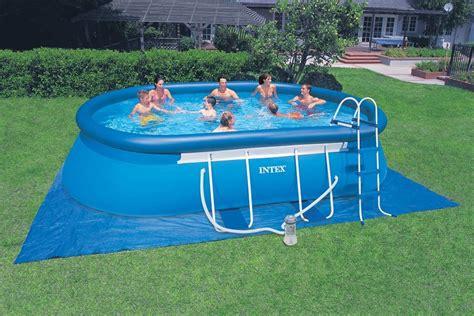 piscine hors sol 4x8 piscine gonflable rectangulaire jardin