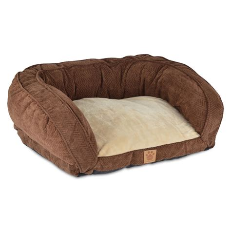dog beds for the sofa snoozzy chocolate gusset couch pet bed ebay
