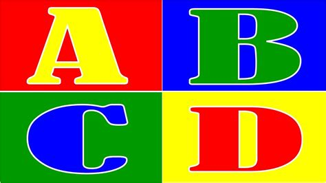 abcd letters  sound   write