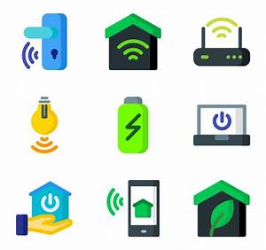 Smart Home Icon : smart home icons 381 free vector icons ~ Markanthonyermac.com Haus und Dekorationen