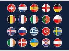 Country flag stickers Vector Image 1383854 StockUnlimited