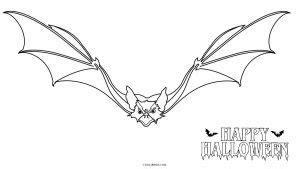 printable bat coloring pages  kids