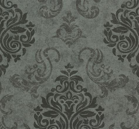 tapete schwarz grau tapete memory vliestapete barock 95372 3 953723 schwarz grau silber