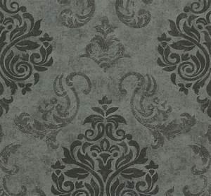 Tapete Barock Schwarz : tapete memory vliestapete barock 95372 3 953723 schwarz grau silber ~ Yasmunasinghe.com Haus und Dekorationen