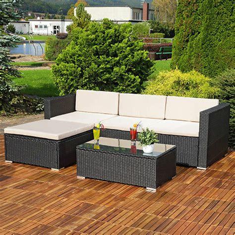 Outdoor Sofa Ebay by Rattan Garden Furniture Corner Sofa Set Lounger Table