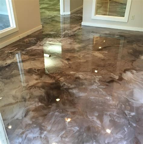 metallic epoxy flooring in atlanta ga epoxy floor coating