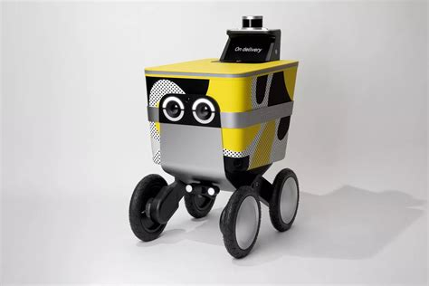 postmates delivery robot serve unveiled curbed