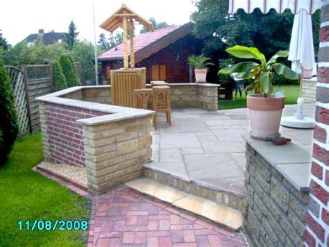 terrasse mit mauer mediterrane terrasse mit mauer anlegen