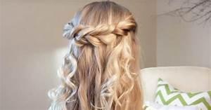 Coiffure Facile Pour Petite Fille : coiffure facile une torsade boh me pour votre fille en 5 mn ~ Nature-et-papiers.com Idées de Décoration
