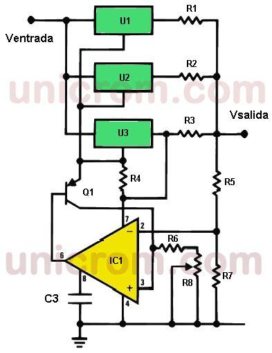 fuente de voltaje variable 4 con tres lm317 y lm308 electr 243 nica b 225 sica