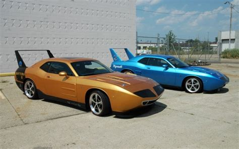 Heide Turns Dodge Challenger Into Classic Charger Daytona