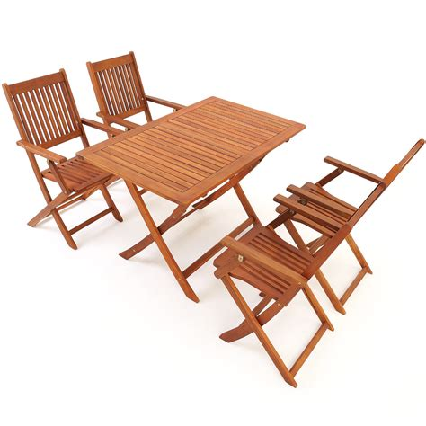 ensemble table chaise jardin salon de jardin quot sydney quot en bois d 39 acacia ensemble table